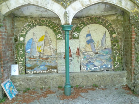 Well Dressing with Sailing Theme 2012